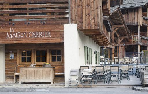 Restaurant la maison carrier chamonix neapolis restaurant for La maison carrier