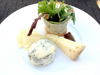 cheese plate at Jiva Hill