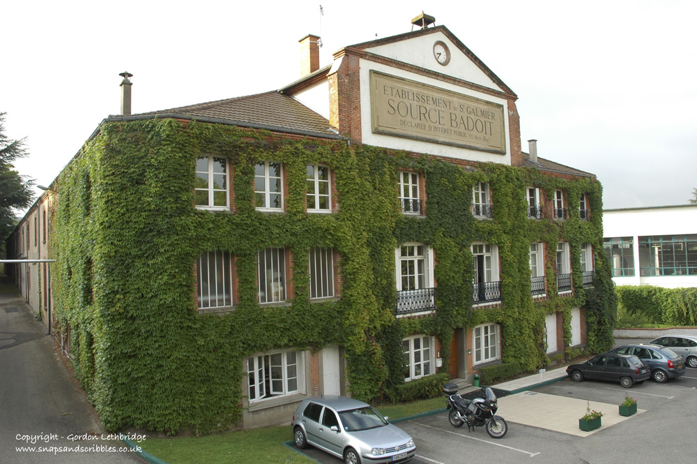 The original Badoit bottling plant at St Galmier