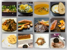 A selection of dishes from L'Angelick