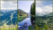 Les Gets, Morzine, Lac Montriond summer views