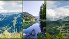 Les Gets, Morzine, Lac Montriond summer views