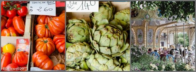 Market day in Samoens