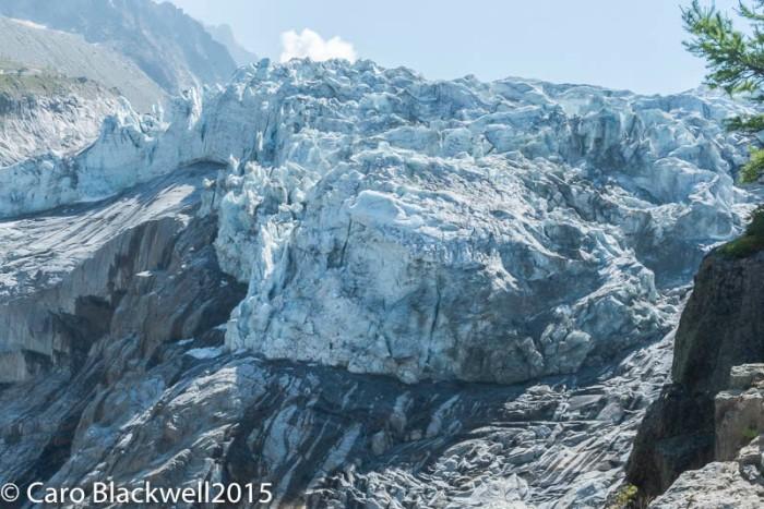 Le Serac of the Argentiere Glacier